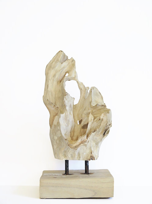 Small Teak Sculpture