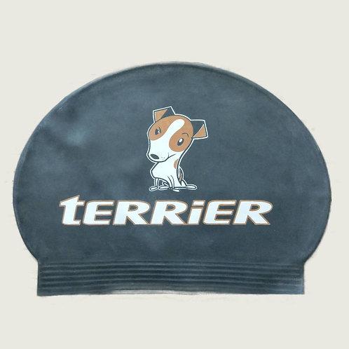 Terrier Swimcap (Black)