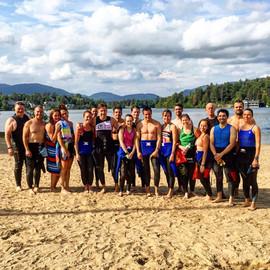 Ironman Lake Placid Pre Swim