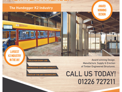 Introducing Our Hundegger K2 Industry!