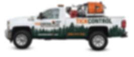 Tick Control, LLC truck | pest control service | Tick Spraying
