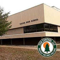 Wilton-High-School-Tick_Control_LLC-Wilt