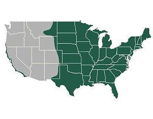 Groundhog Tick Map | Tick Control, LLC