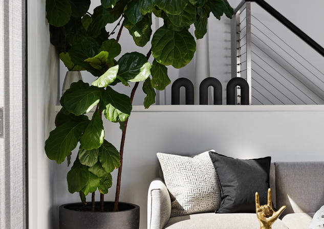 Sofa Riverview Waterfront Home Meusz Interiors