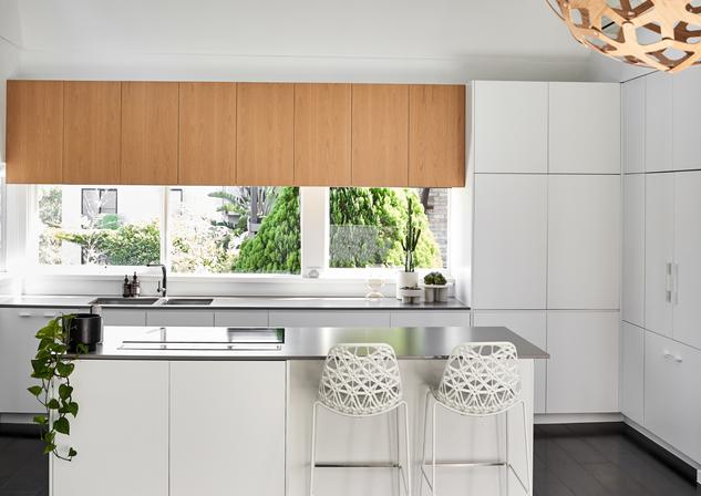 Kitchen Riverview Waterfront Home Meusz Interiors