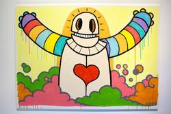 OibelArt Oibot Rainbow Arms