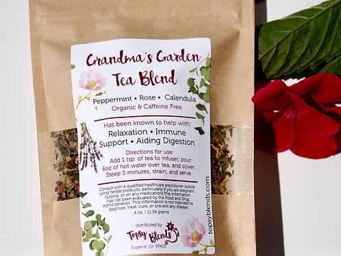 Grandma's Garden - Herbal Tea Blend - Loose Leaf Tea