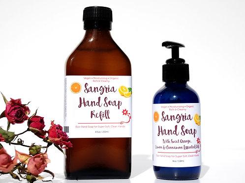 Sangria Liquid Hand Soap