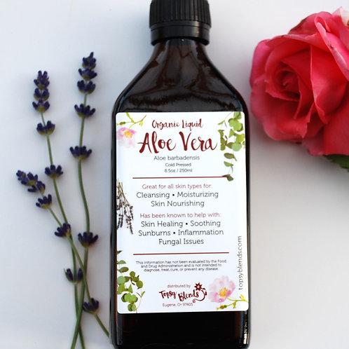 Organic Aloe Vera Liquid