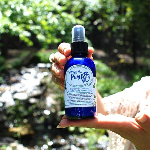 Purify - Mask Spray / Cooling & Energizing Body & Air Purifying / Yoga Mat Spray