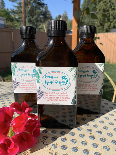 Lymph Support Massage Oil