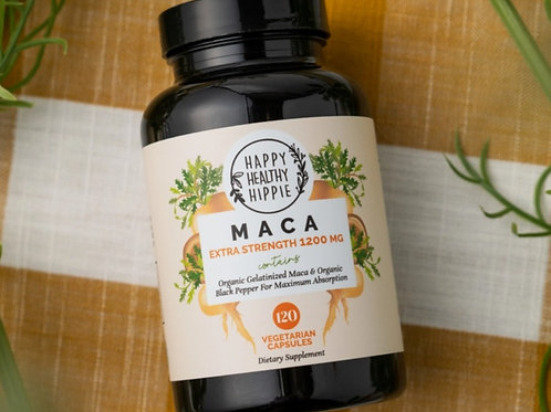 Organic Maca Supplement - Natural Energizer, Libido & Immune Support
