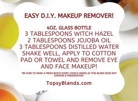Easy D.I.Y. Natural Makeup Remover