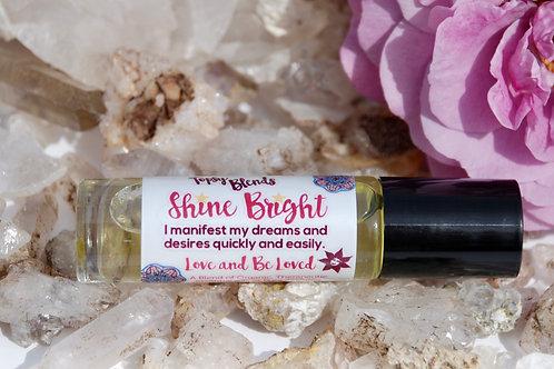 Shine Bright Quartz Crystal Affirmation Roll-On