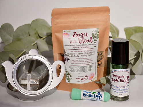 Feel Better Care Package • Cold & Flu •Immune Support