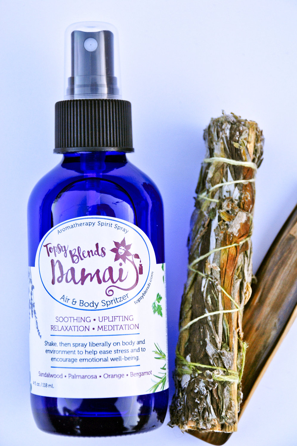 Damai - Soothing Relaxation and Meditation Spray