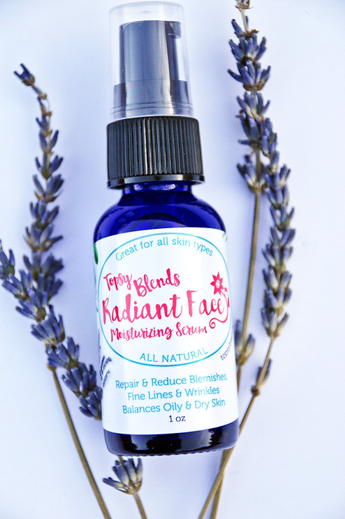 Radiant Face Antioxidant Serum - Moisturizing Serum