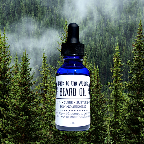 Back to the Woods Beard Oil
