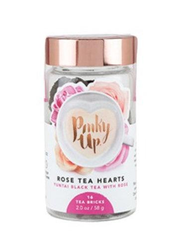 Rose Tea Hearts