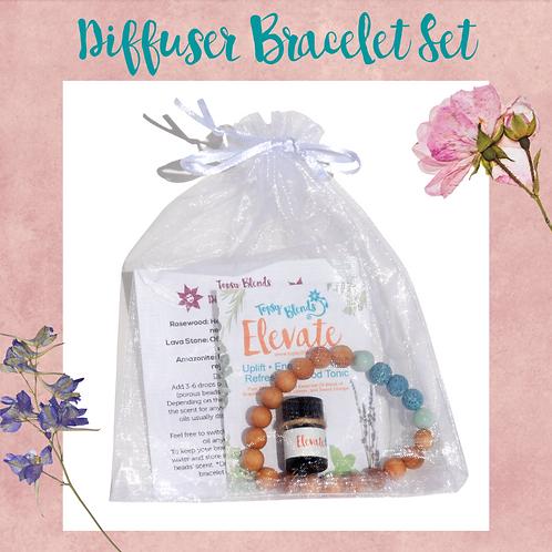 Diffuser Bracelet & Essential Oil Gift Set