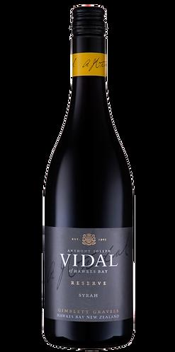 Vidal Reserve Syrah [2014]