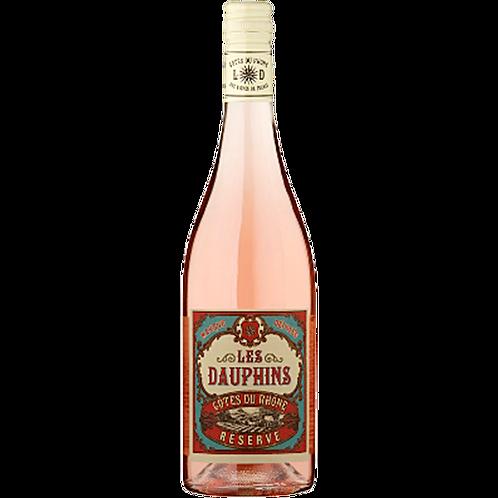 Les Dauphins Reserve Cotes du Rhone Rose [2015]