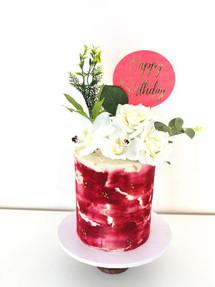 Wine Red, Celebration Cake