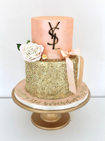 Golden Peach, Celebration Cake
