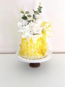 White Rose, Celebration Cake