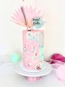 Trendy Dried Palm, Celebration Cake