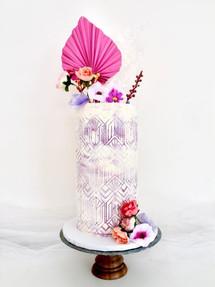Pink Velvet,  Celebration Cake