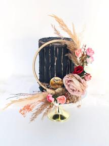 Floral & Texture, Birthday Cake