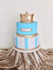 Blue Princess, Celebration Cake