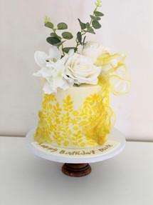 Lemon Look, Celebration Cake