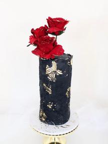 Tall Black Beauty, Celebration Cake
