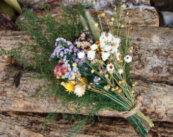 romantic wildflower bouquet