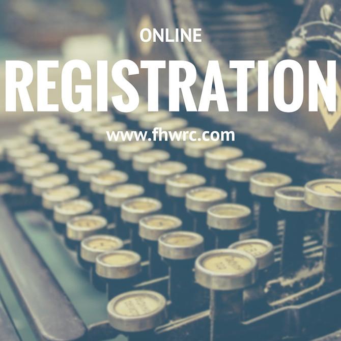 NEW Online Registration!