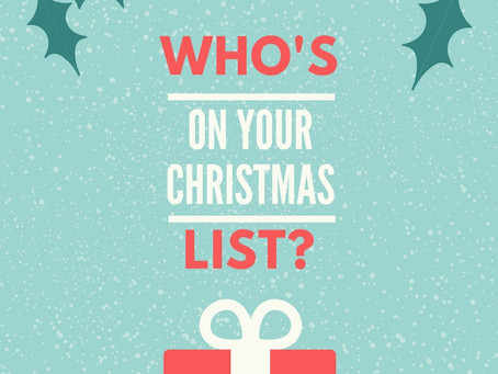 'Tis the Season For Giving!