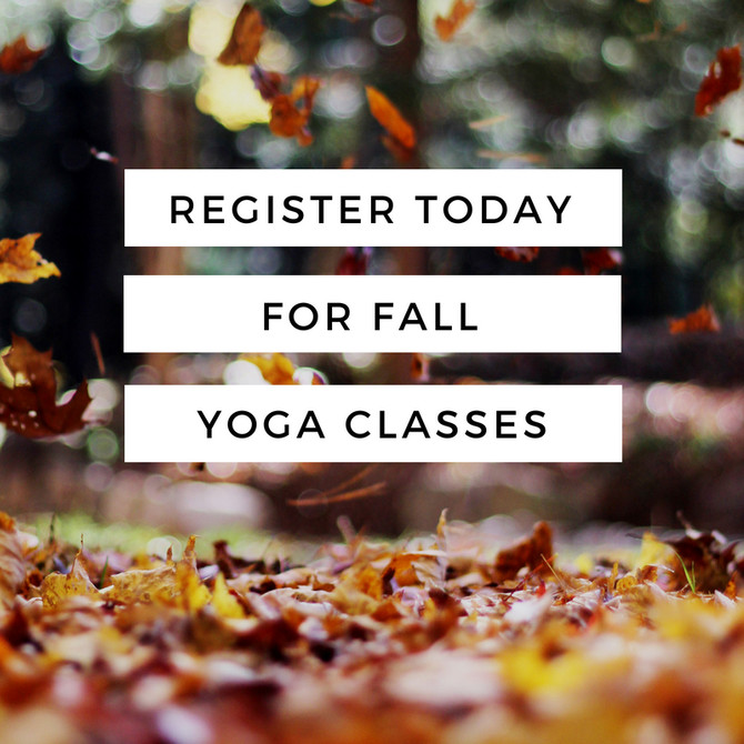 New Yoga Sessions Starting Soon!