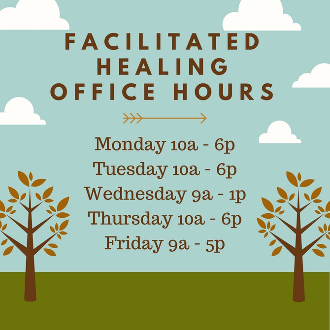 Extended Treatment and Office Hours