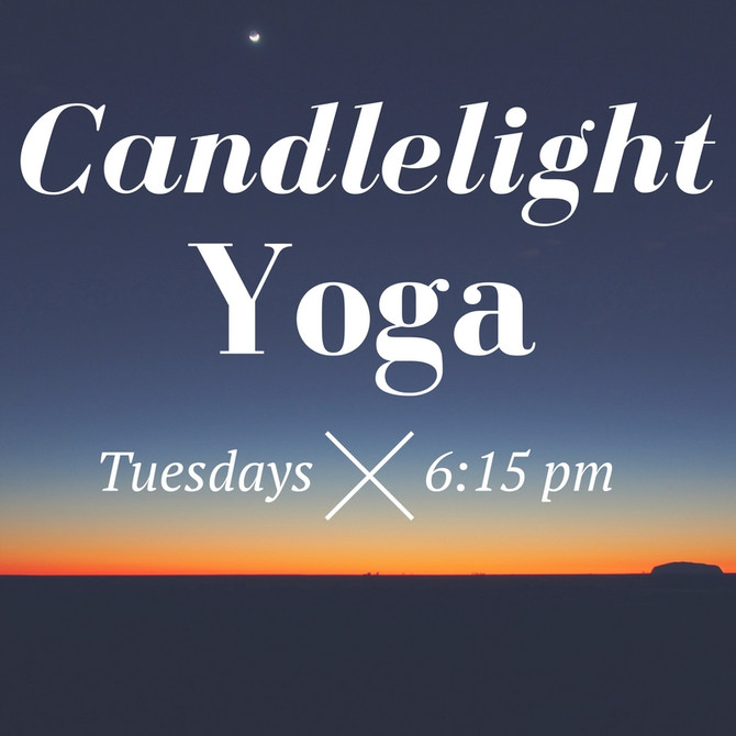 Candlelight Yoga 6-Week Session