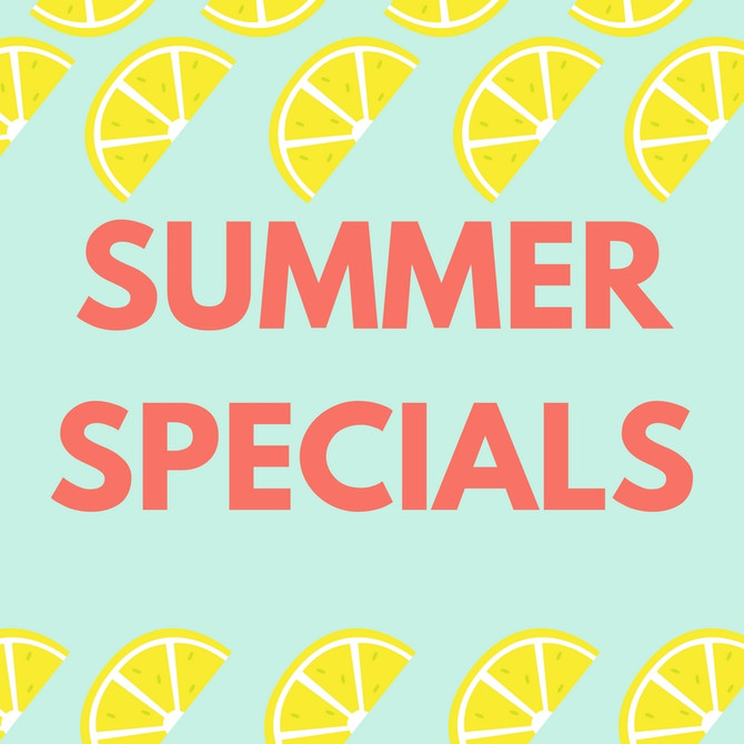 Massage and Myofascial Release Specials