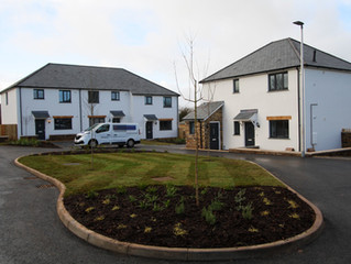 Handover of Hill Fort View, Denbury Affordable Housing Development