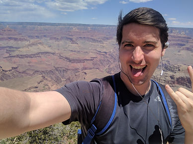 Pic of me clowning around at the Grand Canyon