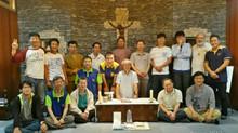 한국-일본 섹터 수사들 모임과 라몬 수사님의 수도생활 70년 축하미사