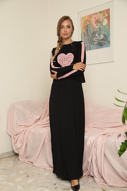 Nursing gown dress