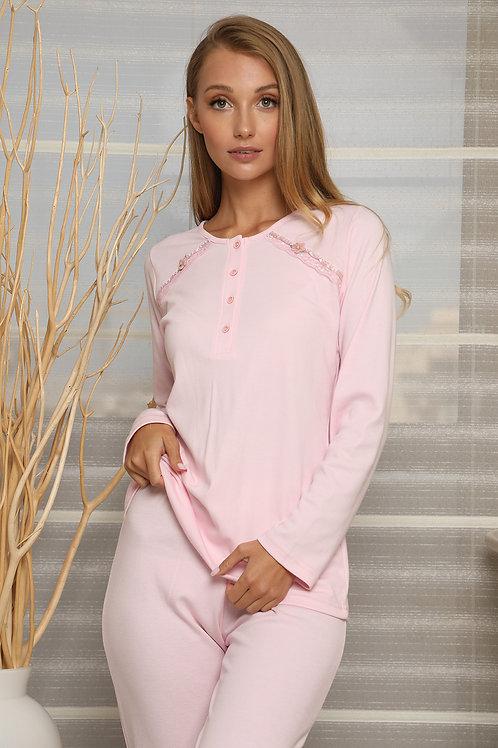 Romantic pyjama with buttons