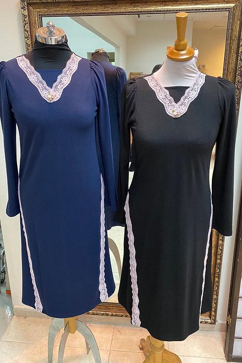 modest midi gown
