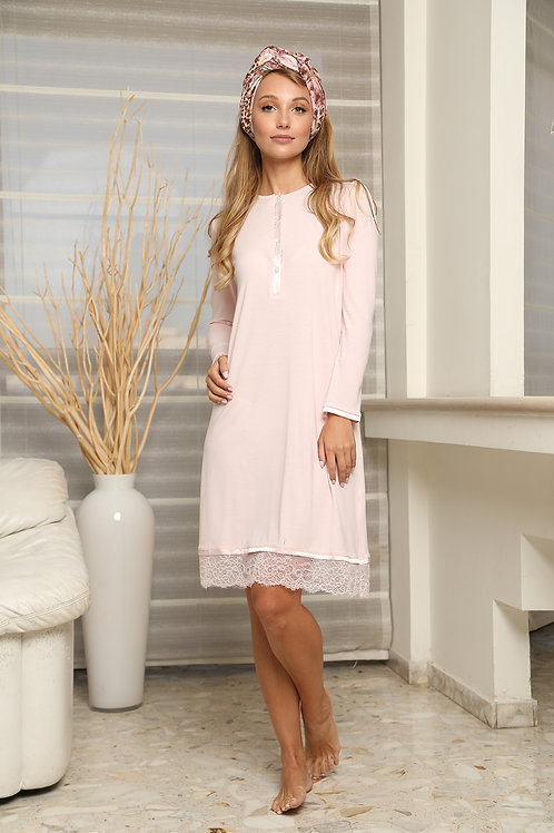 Romantic modest gown