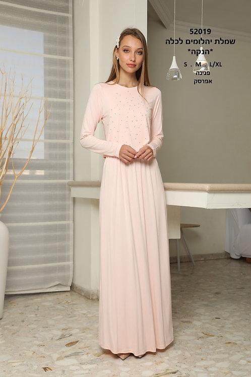 שמלת בית לכלה עם פתח הנקה נסתר